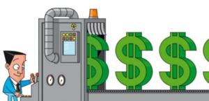 Print dollar