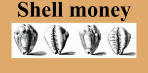 Sea shell money