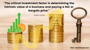 Buffett quote on Intrinsic value
