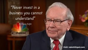 Understand the business before investing