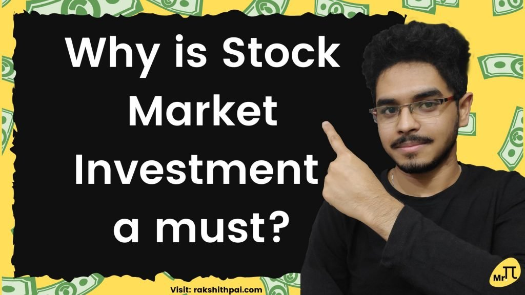 Why stock market investment a must