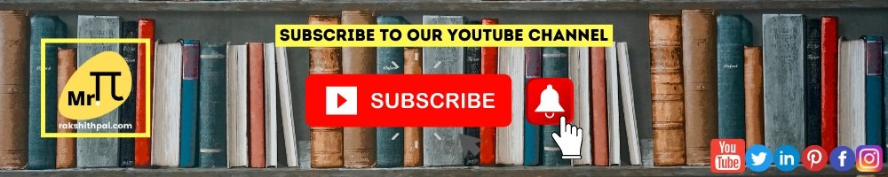 Rakshith Pai YouTube Channel